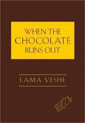 the chocholate runs out