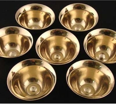 Water bowls brass (mini)