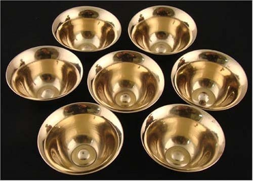 Water bowls brass (mini)