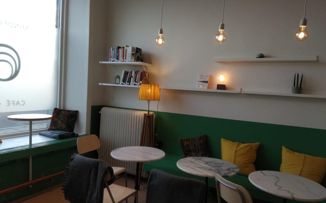 Centret har fått ett café och en bokshop!